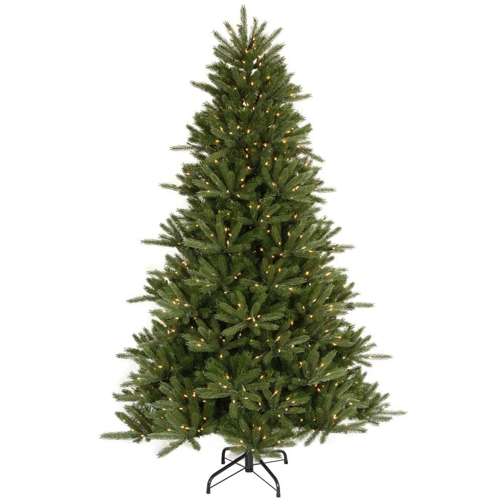 Vickerman 12Ft. Green 5784 Tips Christmas Tree 2000 Clear Dura-Lit