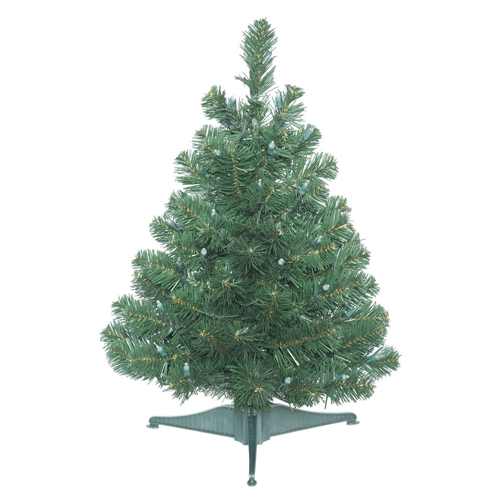 "Vickerman 26"" Unlit Oregon Fir Artificial Christmas Tree w/ Pull Down Branches"
