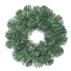 "12"" Unlit Oregon Fir Wreath 35 Tips"