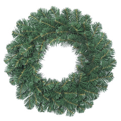 "18"" Unlit Oregon Fir Wreath 66 Tips"
