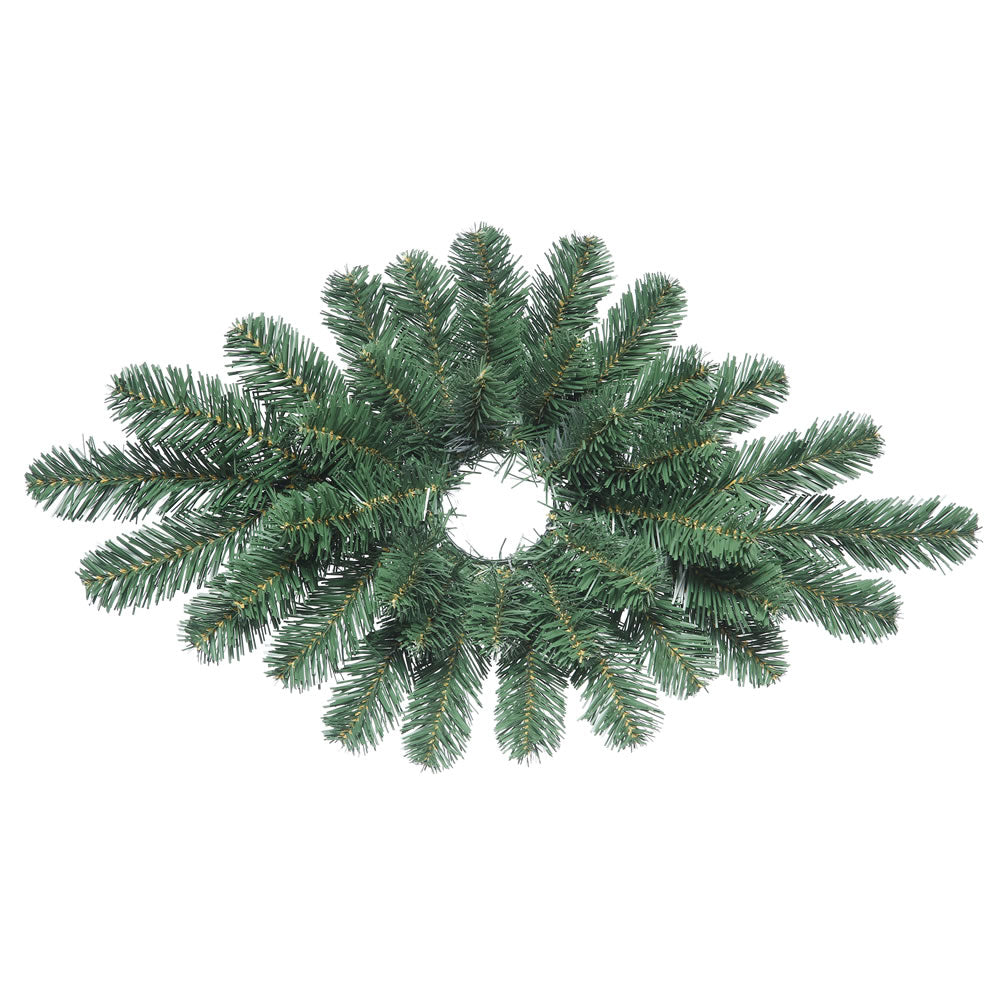 "28"" Unlit Oregon Fir Christmas Centerpiece - 38 PVC Tips"