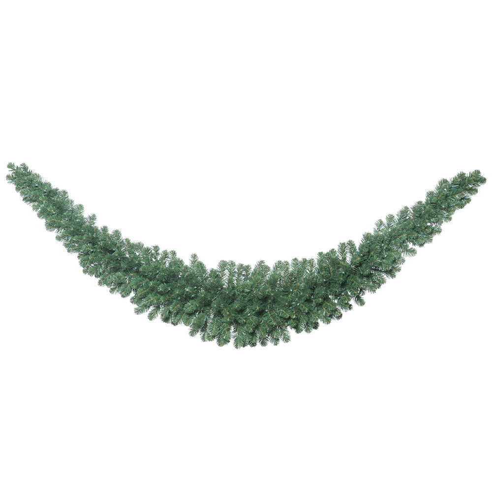 9' Oregon Fir Swag Garland 286 Tips