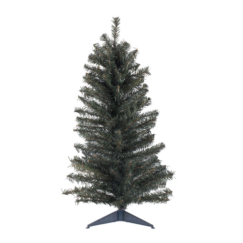 "Vickerman 36"" Unlit Canadian Pine Artificial Christmas Tree 146 Tips"