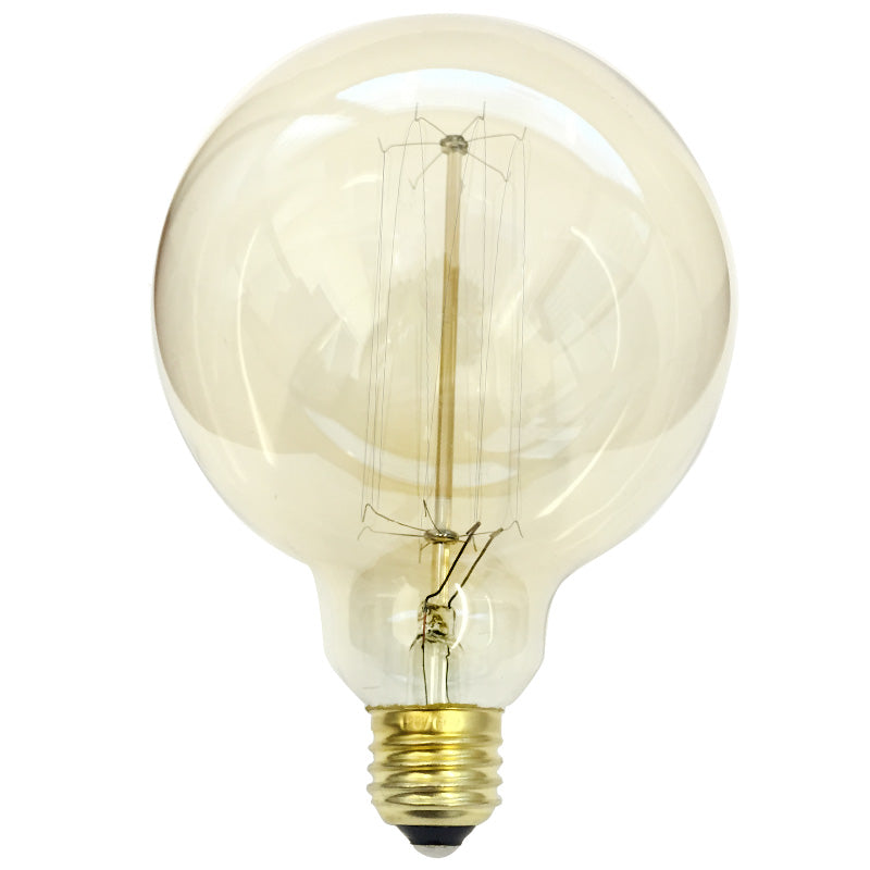 Antique 60w Globe G40 Vintage Style 120v Incandescent