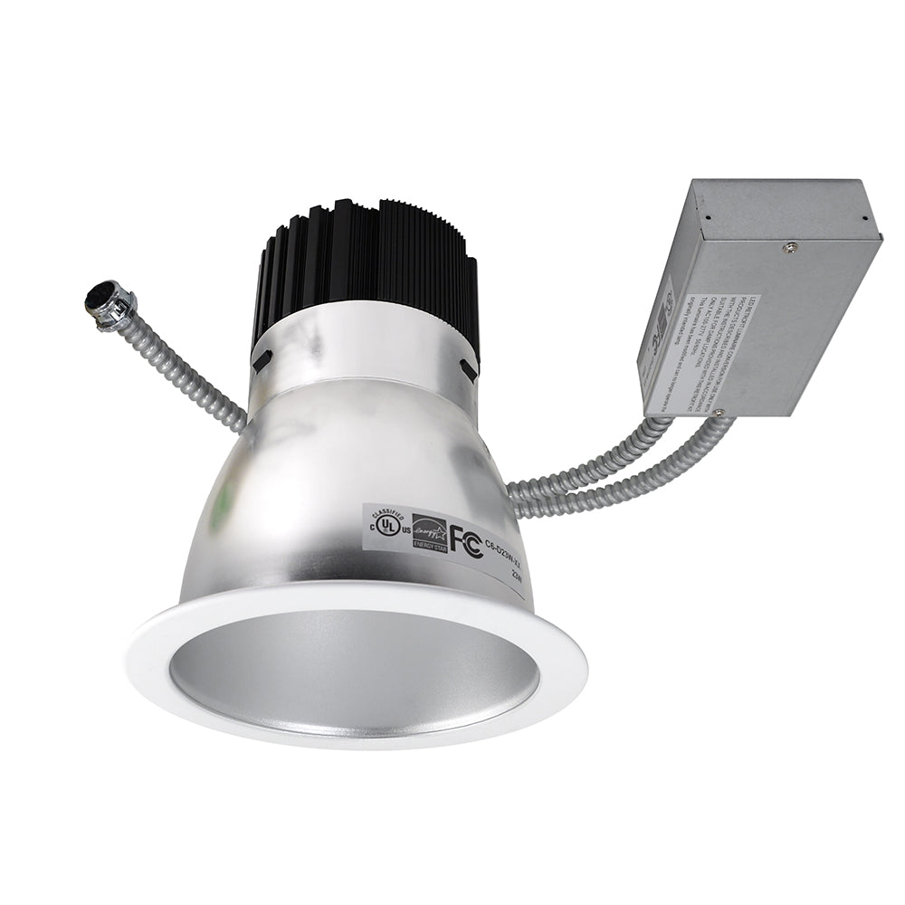 NICOR 6 in. LED Commercial Downlight Retrofit with High Performance Driver