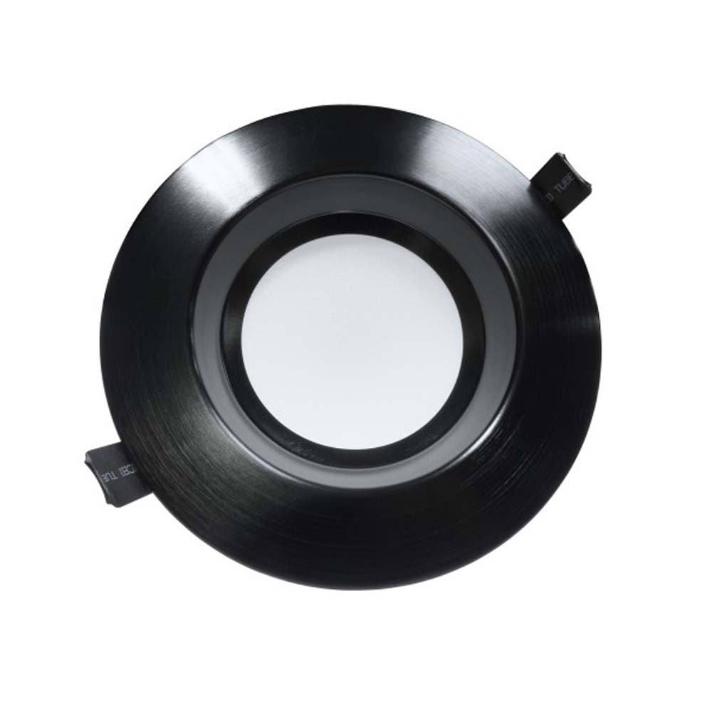 NICOR 6 inch Recessed Commercial LED Downlight, Black, 3500K