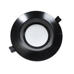 NICOR 6 in. Black Commercial LED Recessed Downlight in 4000K