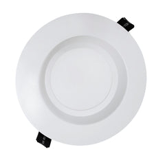 NICOR 6 in. White Commercial LED Recessed Downlight in 4000K