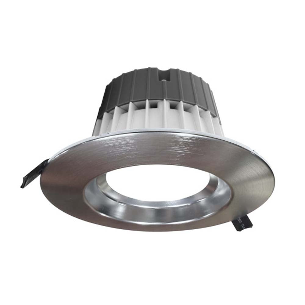 Nicor CLR-Select 6-inch Nickel Commercial Canless LED Downlight Kit