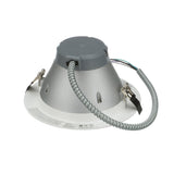 NICOR 8 in. Nickel Commercial LED Recessed Downlight in 3500K_2