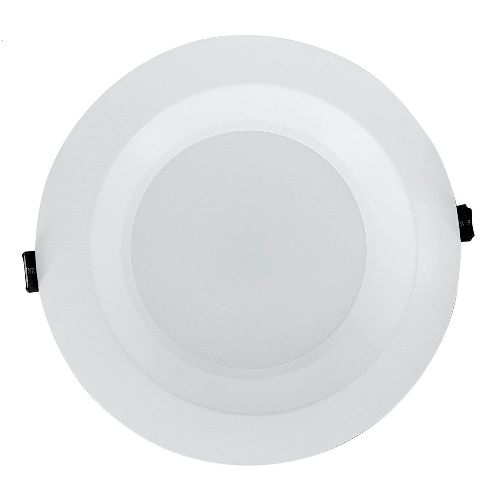 NICOR 8 in. White Commercial LED Recessed Downlight in 3500K