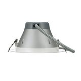 NICOR 8 in. Black Commercial LED Recessed Downlight in 4000K_1