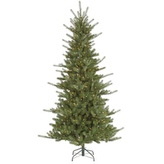 Vickerman 6.5Ft. Green 929 Tips Christmas Tree 500 Clear Mini Lights