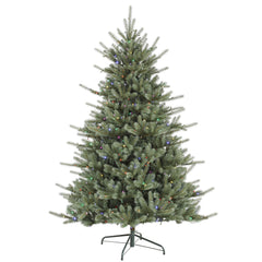Vickerman 6.5Ft. Green 1034 Tips Christmas Tree 480 Multi-color LED Lights