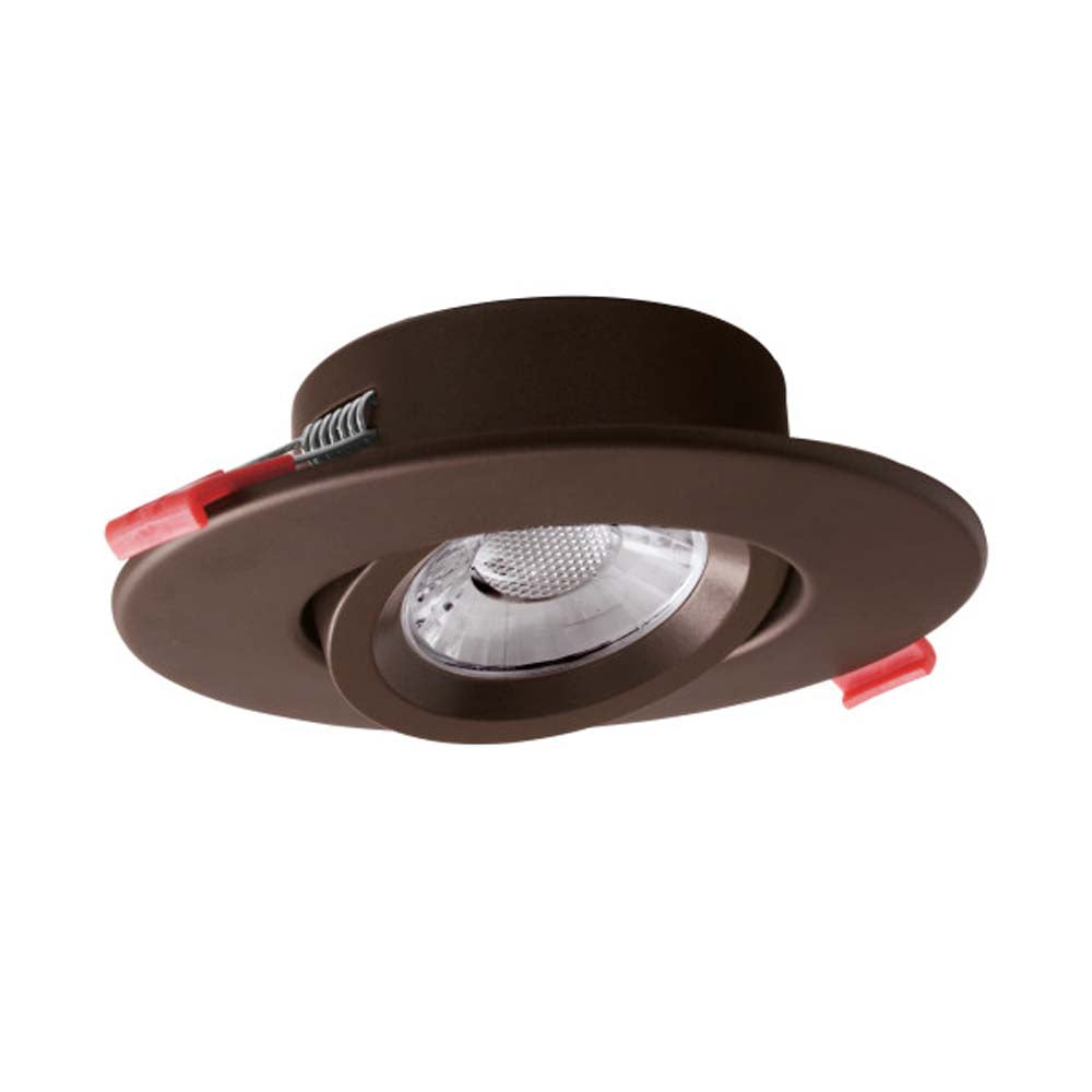 DGC 4 in. Recessed Gimbal LED Downlight Oil Rubbed Bronze