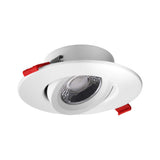 DGC 4 in. Recessed Gimbal LED Downlight White