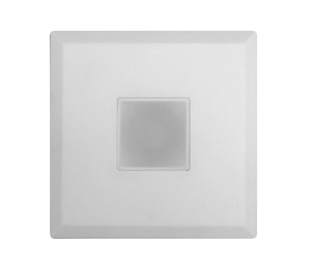 SureFit 5.15 in. Square Ultra Slim Surface Mount LED Downlight in White, 4000K