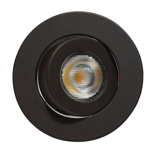 NICOR 2 in. LED Gimbal Downlight in Oil-Rubbed Bronze, 3000K