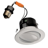 NICOR 4 in. LED Gimbal Downlight Retrofit Kit in 2700K_2