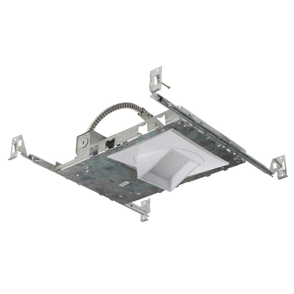 NICOR 5 in. Multi-Adjustable Square LED Fixture with Housing in 4000K