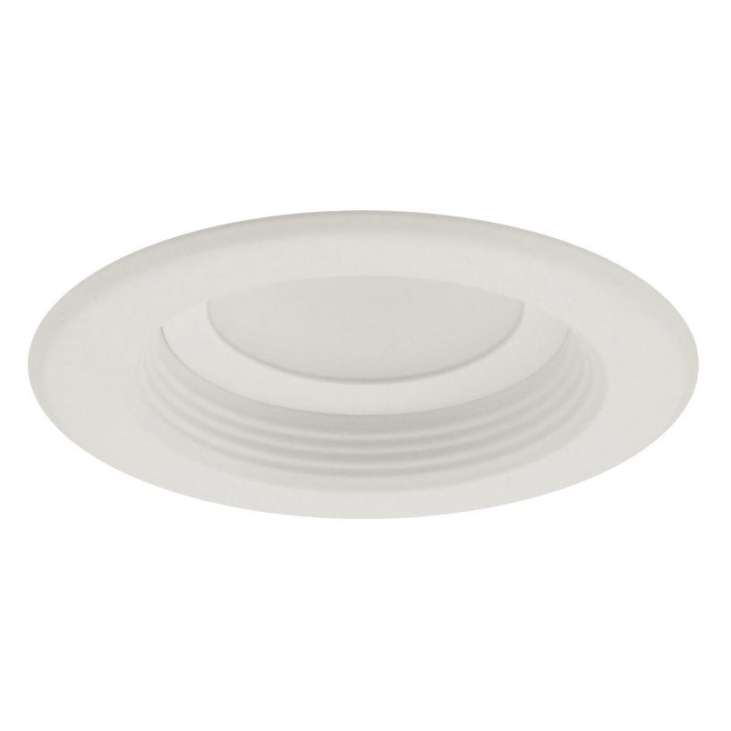 NICOR D-Series 4 in. White Dimmable LED Recessed Downlight 2700K with Baffle