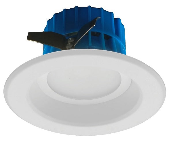 NICOR 4 inch LED Recessed Downlight 600LM 4000K Dimmable White Trim