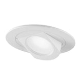 NICOR 4 in. White LED Recessed Retrofit Adjustable Retractable Downlight, 2700K_1
