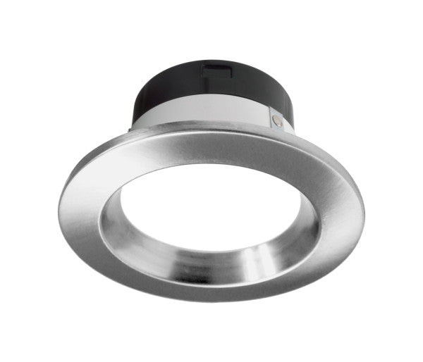 Nicor 4 in. Selectable CCT Nickel LED Recessed Downlight, Dimmable