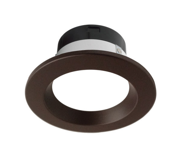 Nicor DLR4 SELECT Series 4 in. Oil-Rubbed Bronze LED Recessed Downlight