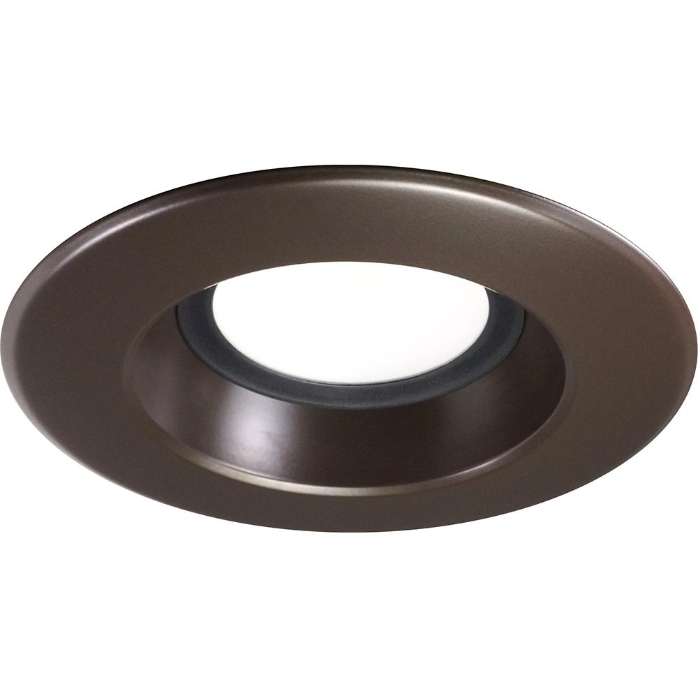 NICOR 5-6 inch LED Recessed Downlight 900LM 2700K Dimmable Bronze Trim