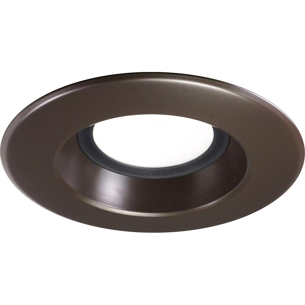NICOR 5-6 inch LED Recessed Downlight 1200LM 5000K Dimmable Oil Rubbed Bronze