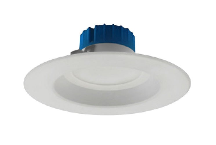 NICOR 5-6 inch LED Recessed Downlight 800LM 4000K Dimmable White Trim