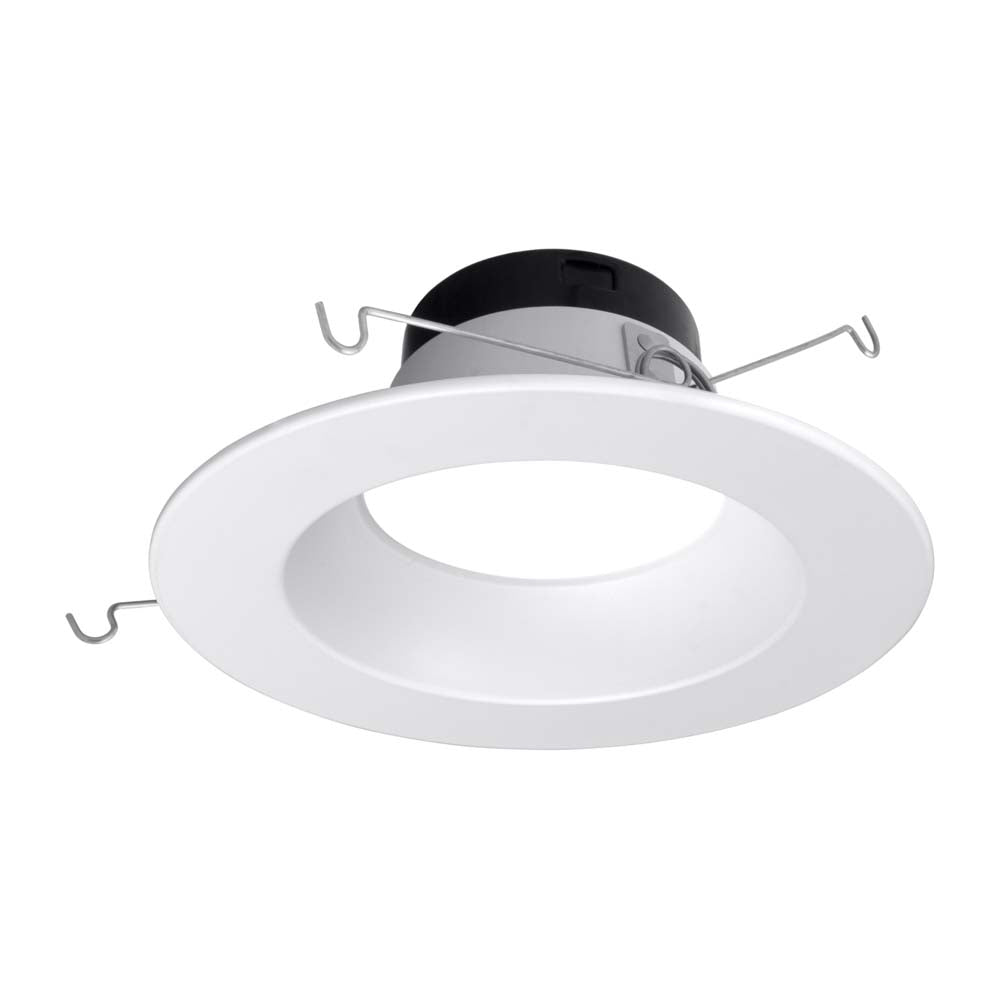 Nicor 5-6 in. Selectable CCT in White LED Recessed Downlight, Dimmable