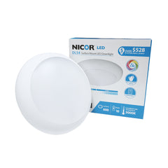 NICOR 4 in. White LED Surface Mount Retrofit in 3000K