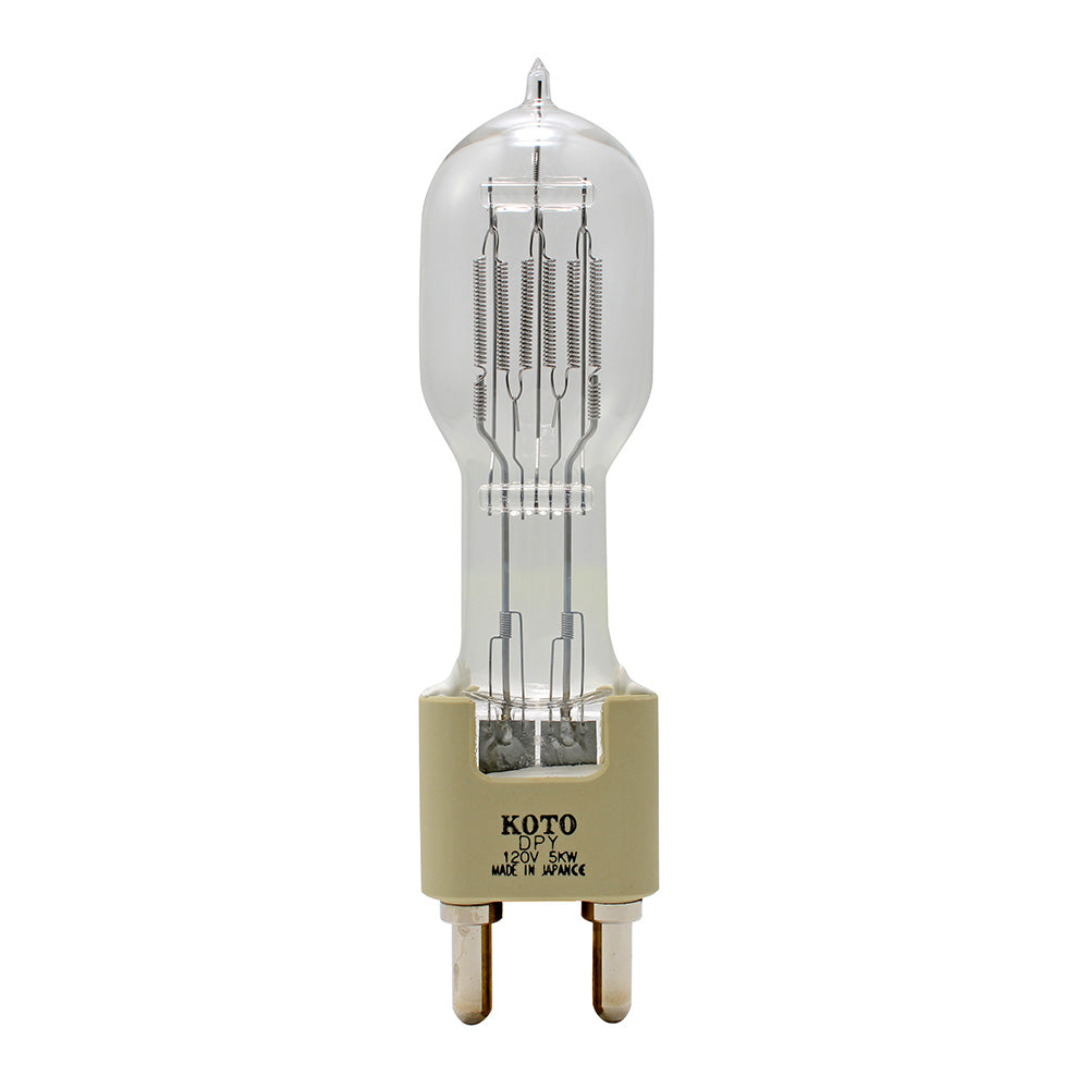KOTO DPY 4900w 120v G38 base 3200k Halogen Light Bulb