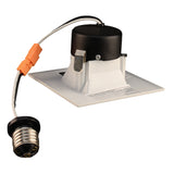 NICOR 3 in. White Square LED Recessed Downlight in 4000K_1
