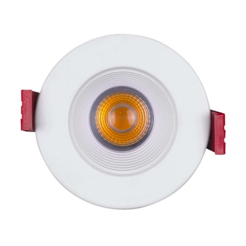 NICOR 2-inch Round LED Recessed Downlight in White, 4000K