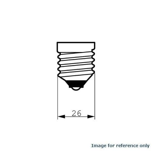 PHILIPS 40W 120V A-Shape A19 E26 Frosted Incandescent lamp