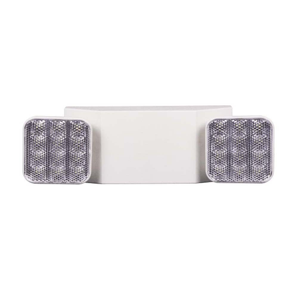EML Series Low Profile Adjustable LED Emergency Light Fixture, Remote Capable