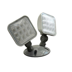 ERL Series Wet Location Emergency LED Remote Dual Light Fixture