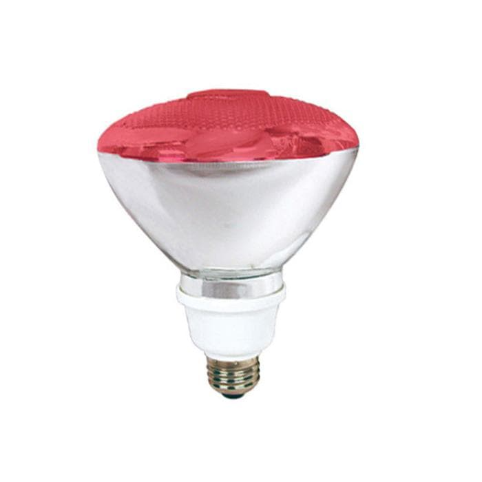 Compact Fluorescent 23w Red PAR38 T Par Can Bulb