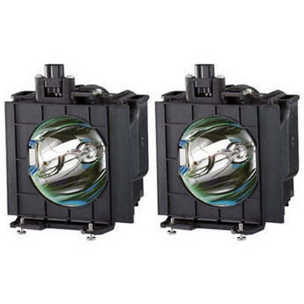Panasonic ET-LAD310W Projector OEM Compatible Twin-Pack Projector Lamps