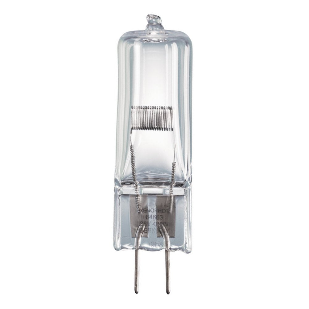 EVD Replacement 64663 HLX 400w 36v G6.35 Halogen Bulb