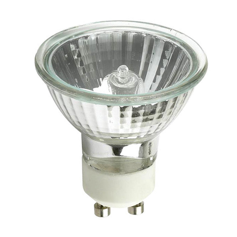PLATINUM 50w 120v MR16 EXN GU10 Flood w/ Front Glass Halogen Light Bulb