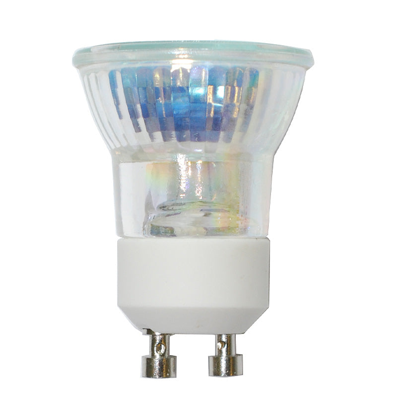 BulbAmerica 20W 120V MR11 GU10 Base Cover Guard Flood Mini Reflector Bulb