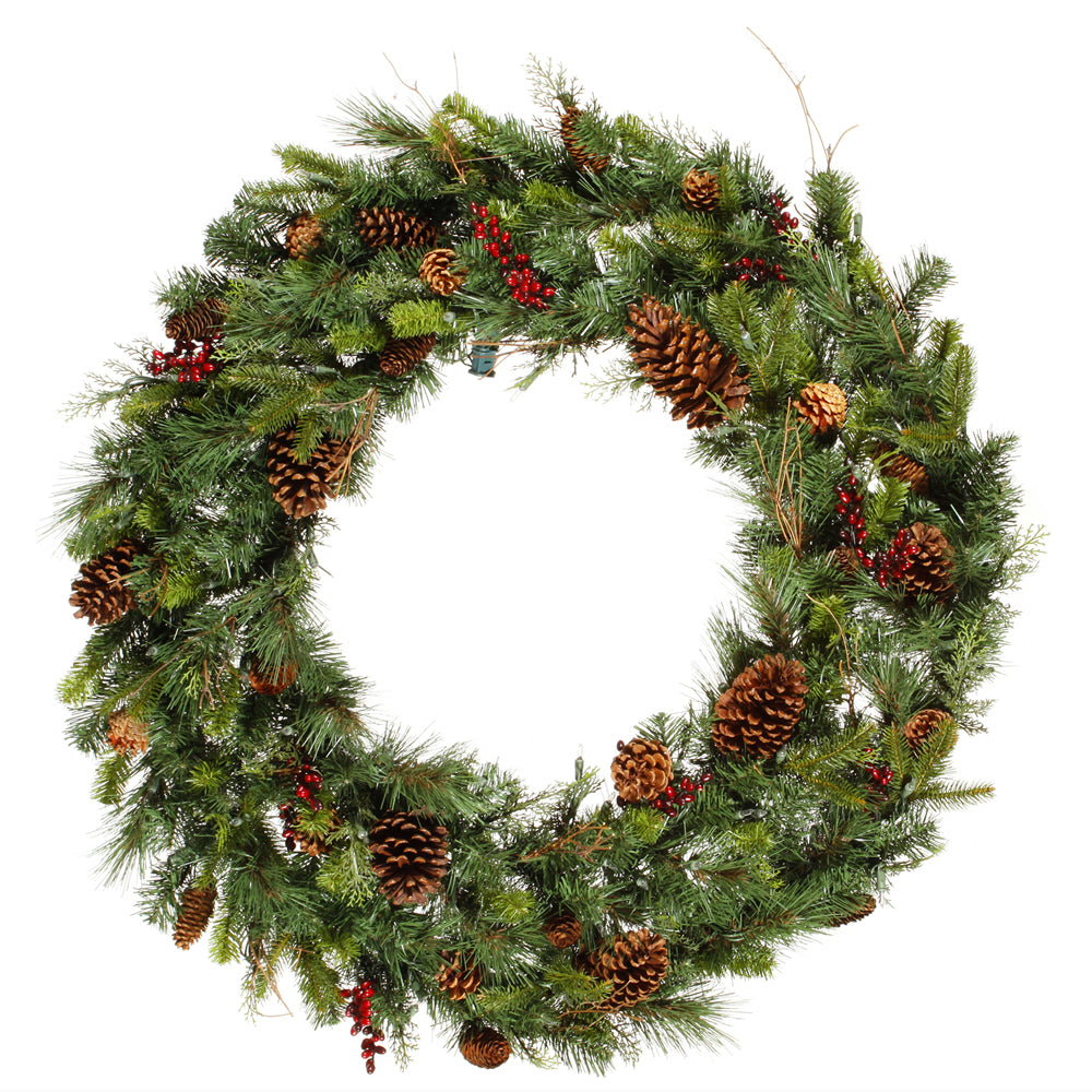 "36"" Cibola Mix Berry Wreath 213Tips"