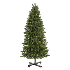 Vickerman 6.5Ft. Green 876 Tips Christmas Tree 550 Warm White Wide Angle LED