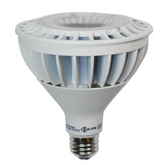High Quality LED 18w Dimmable PAR38 Warm White Waterproof Bulb - 120w Equiv.