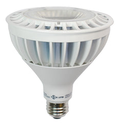 High Quality LED 18w Dimmable PAR38 Cool White Waterproof Bulb - 120w Equiv.
