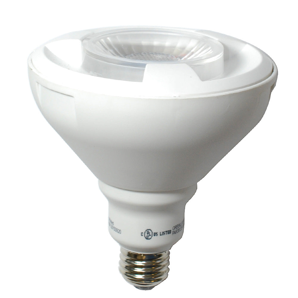 High Quality LED 15.5W Dimmable PAR38 Cool White Light Bulb - 100w Equiv.